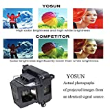 YOSUN v13h010l68 Projector Lamp for epson elplp68