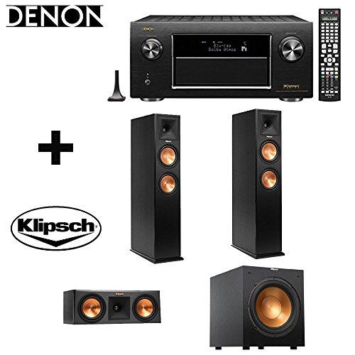 Denon AVR-X7200W AV Receiver +2Klipsch RP-260FSpeaker +Klips