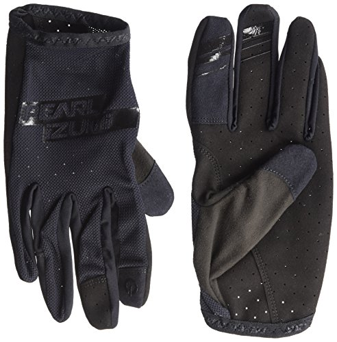 Pearl iZUMi Men's Divide Gloves, Black/Black, Large