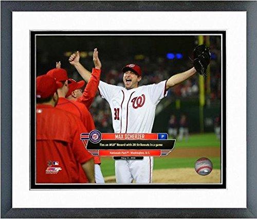 Max Scherzer Washington Nationals 2016 MLB 20 K Game Photo (Size: 12.5
