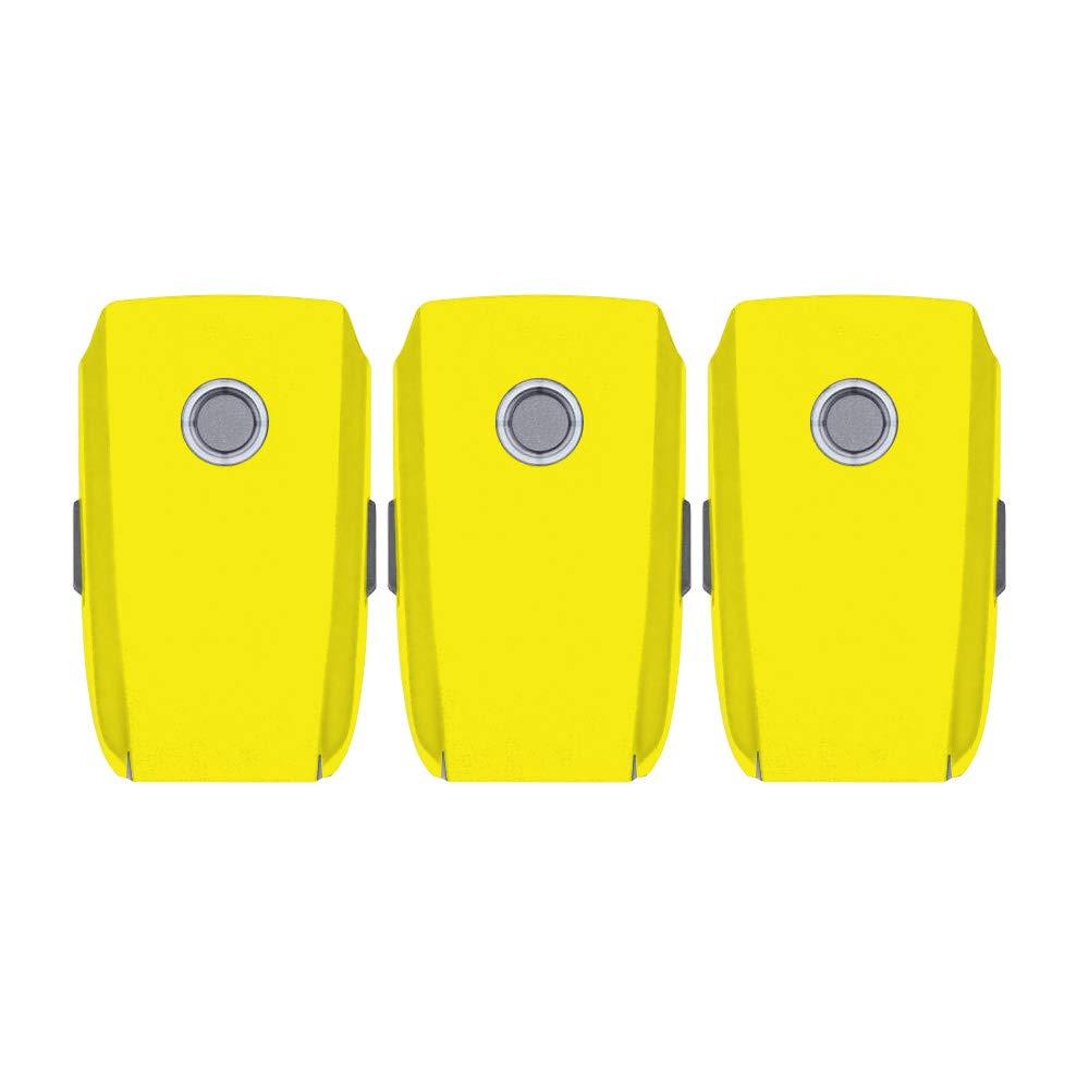 MightySkins スキンデカールラップ DJIステッカー保護カバー 100種類のカラーオプションに対応, DJI Mavic 2 Pro And Zoom Battery, イエロー, DJMAVPRO18BAT-Solid Yellow B07MF9L7K7  イエロー DJI Mavic 2 Pro And Zoom Battery