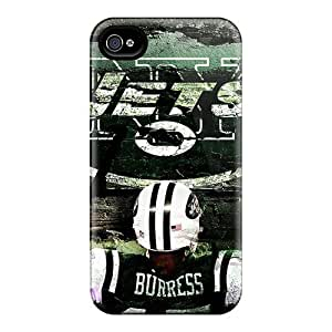 Durable Cell-phone Hard Cover For iPhone 5 5s With Provide Private Custom Vivid New York Jets Image JamieBratt