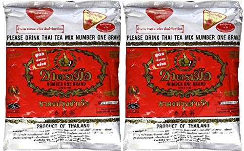 Thai Tea Mix Number One Brand 2x400g