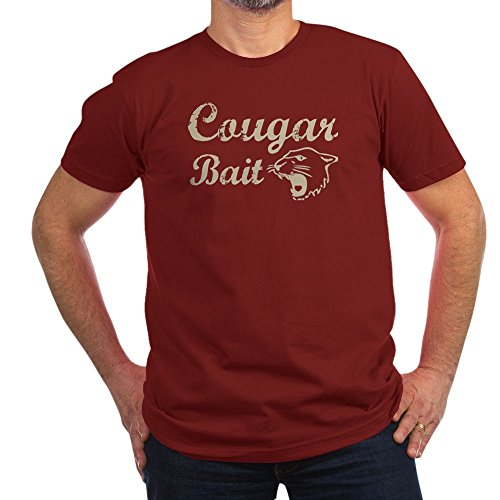 Bait Fitted T-shirt - CafePress Cougar Bait Witty - Men's Fitted T-Shirt, Stylish Printed Vintage Fit T-Shirt