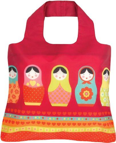 Babushka Kids Reusable Bag Eco Russian Dolls Envirosax design AdPAY
