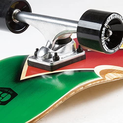 Sector 9 Bamboozler Complete Skateboard, Assorted