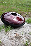 IDIOPAN DOMINA 12-INCH TUNABLE STEEL TONGUE DRUM - RUBY RED