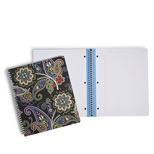Vera Bradley Notebook with Pocket in Kiev Paisley (12338-646)