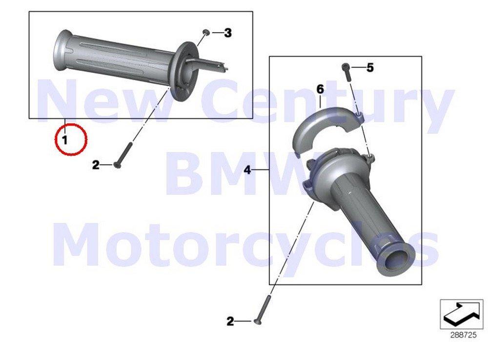 BMW Genuine Motorcycle Handlebar Grips Handle Left C600 Sport C650GT R nine T