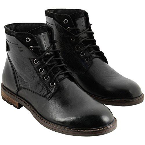 Patria Mardini PMD Style Herren Boot Schwarz Schwarz