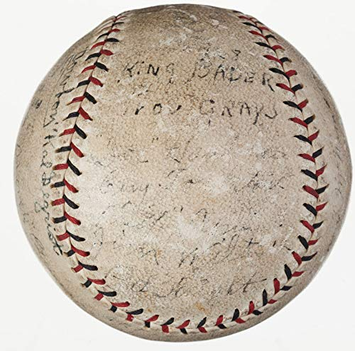- Providence Grays Team Autographed Signature Baseball Babe Ruth's First Team - JSA Authentication