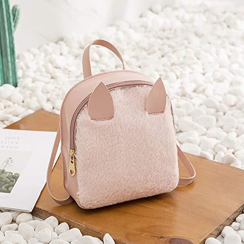 Amazon.com: Women Mini Backpack Cute Small Bag PU Leather Ear Backbag Mochila Feminina Escolar 2018 Crossbody Bags for Book Hand: Kitchen & Dining