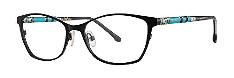 Lilly Pulitzer WINDWARD Eyeglasses 50 Granite