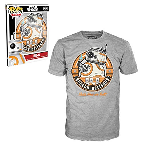 Funko Men's Star Wars - Bb-8 Speedy Delivery, Gray, XX-Large