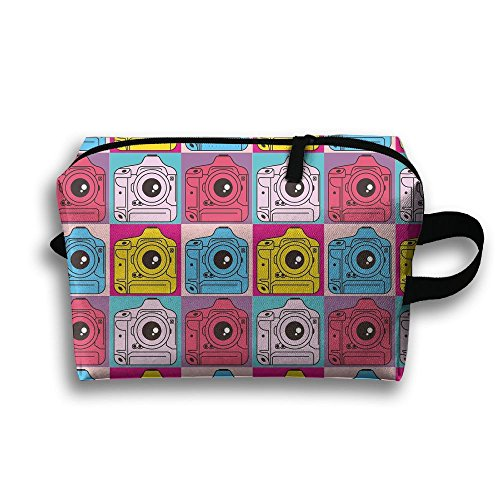 e Travel Portable Make-up Receive Bag Hand Cosmetic Bag With Hanging ()