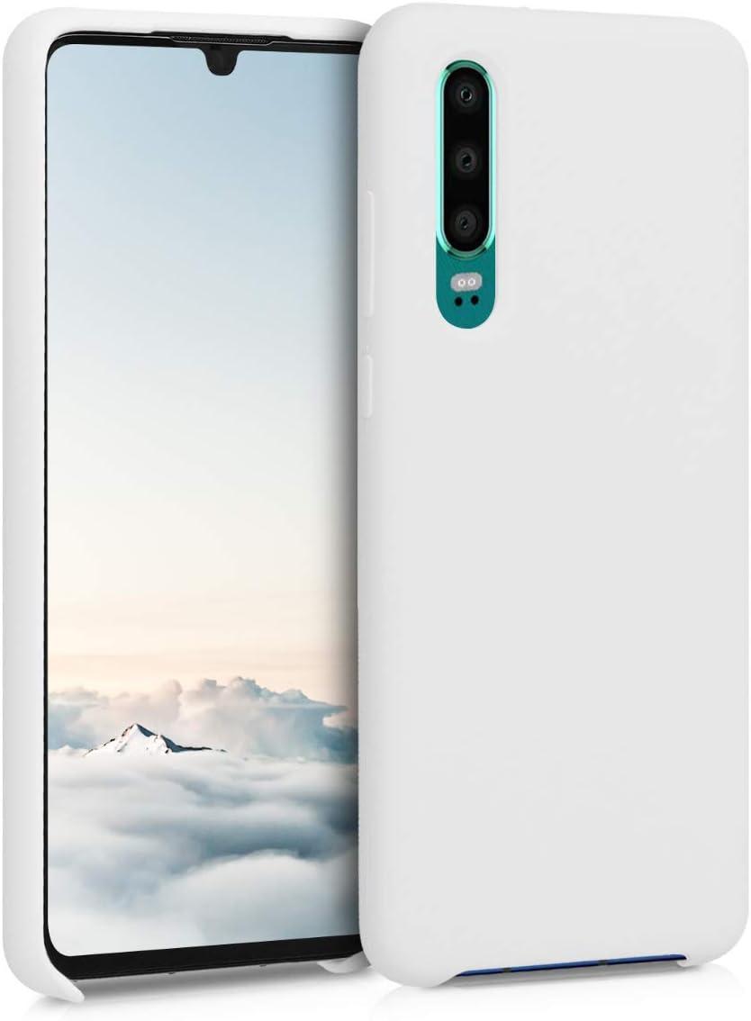 Housse de t/él/éphone en Silicone Or Rose-Transparent Coque pour Huawei P30 kwmobile Coque Huawei P30