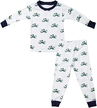 Notre Dame Fighting Irish Infant Footed Pajamas Size 24 Months NCAA Authentic and NEW