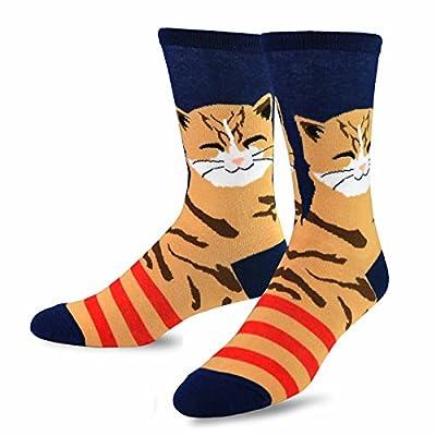 Cat socks for men, 51diP1Ru11L. SS400