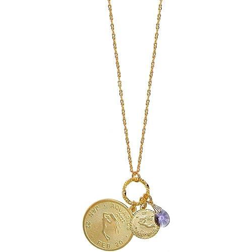 Amazon girlprops mystical sun sign horoscope zodiac pendants girlprops mystical sun sign horoscope zodiac pendants necklace with swarovski crystal usa aquarius aloadofball Choice Image