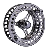 Goture Fly Fishing Reel Waterproof 2+1BB 5/6 7/8 9/10 Aluminum Alloy Body CNC Machine Cut Fishing Reel Large Arbor Die Casting Aluminum Fly Reel With Bag (7/8)