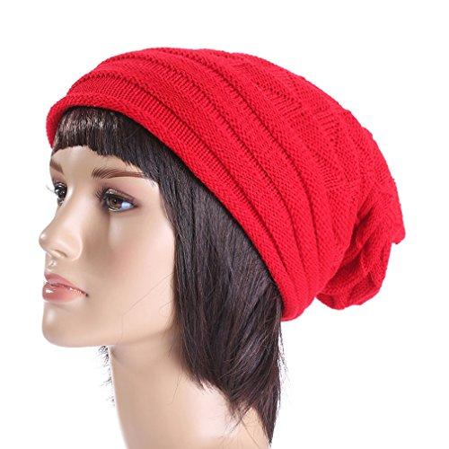 Couleurs Accessoire Rouge 7 Ski Vêtement Rebord Femme Chapeau Bonnet Casquette Tricot Pour De Homme Acvip fSqTFgx