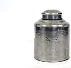 Embossed stainless steel condiment case size 3