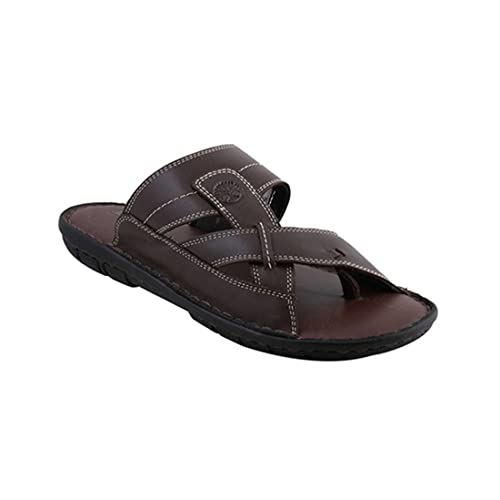 a867bc61de87 Ventoland Men s brown Leather Sandals  Buy Online at Low Prices in India -  Amazon.in