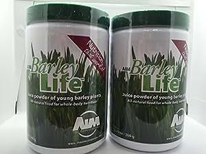 AIM BarleyLife - Family Size (12.7 oz) Barley Grass Powder (Two Pack)