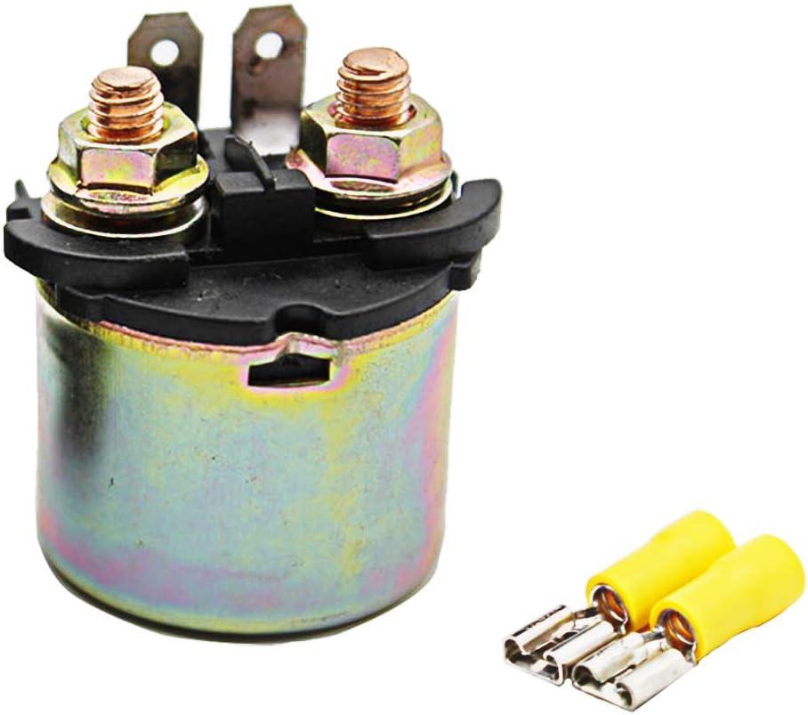 Cyleto Starter Solenoid Relay for Kawasaki KLR650 KLR 650 1992-2007/ KLF400 KLF 400 1993-1995/ ZR550 ZEPHYR 550 1990-1993 ZX600 NINJA 600 1985-1987/ ZX750 NINJA 750R 1987-1990/ TERYX 750 2008-2009