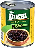 Ducal Whole Black Beans, 29 Ounce (Pack of 12)