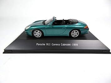 Atlas Porsche 911 Carrera 2 Cabriolet (996) 1999 green1 / 43 - Ref: 4017: Amazon.es: Juguetes y juegos