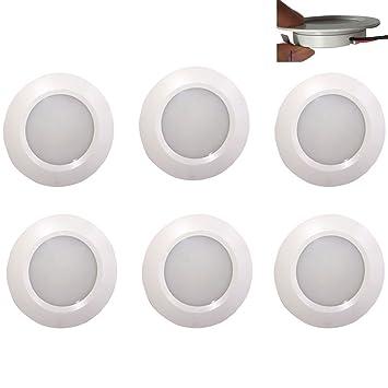 Amazon 12v ledlight white under cabinet lights aluminum 12v ledlight white under cabinet lights aluminum ceiling light rv marine recessed aloadofball Gallery