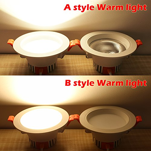 B2ocled 4-Pack LED Downlight,LED Retrofit Recessed Lighting Fixture,3W(25W Replacement),3000K Warm white,CRI80+,LED Integrated Ceiling Light by B2ocled (Image #5)