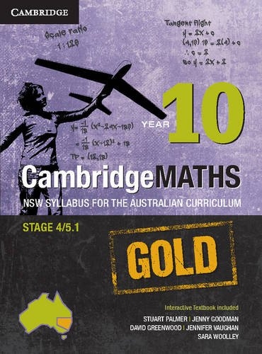 Cambridge Mathematics GOLD NSW Syllabus for the Australian Curriculum Year 9 Pack and Hotmaths