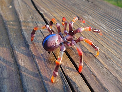 Glass Spider Spider Blown Glass Art Glass Spider