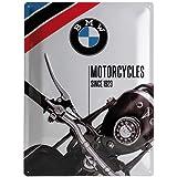 Nostalgic-art-bilderpalette bMW motorcycles depuis 1923-30 x 40 cm