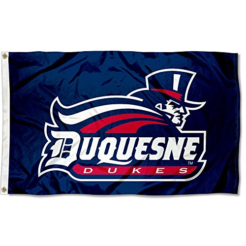 Duquesne Dukes University Large College Flag