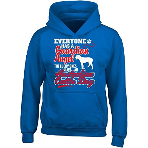 Bvtemp Lucky Ones Have An Australian Cattle Dog A Cool Gift - Adult Hoodie ()
