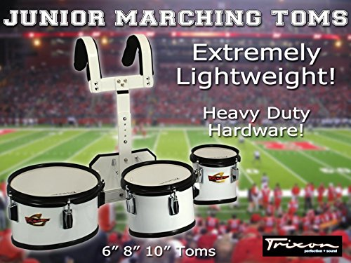 Trixon Junior Marching Toms - Set of 3 by Trixon Drums