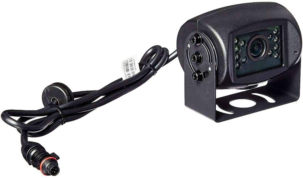 Voyager VCMS10B Super CMOS Rear View/Mount Observation Wired Camera with LED Low-Light Assist, Black, Water Resistant