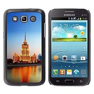 Be Good Phone Accessory // Dura Cáscara cubierta Protectora Caso Carcasa Funda de Protección para Samsung Galaxy Win I8550 I8552 Grand Quattro // Lighted Building River
