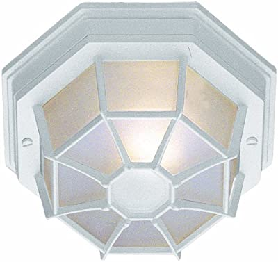 Trans Globe Lighting 4-Inch 1-Light Small Flush Mount