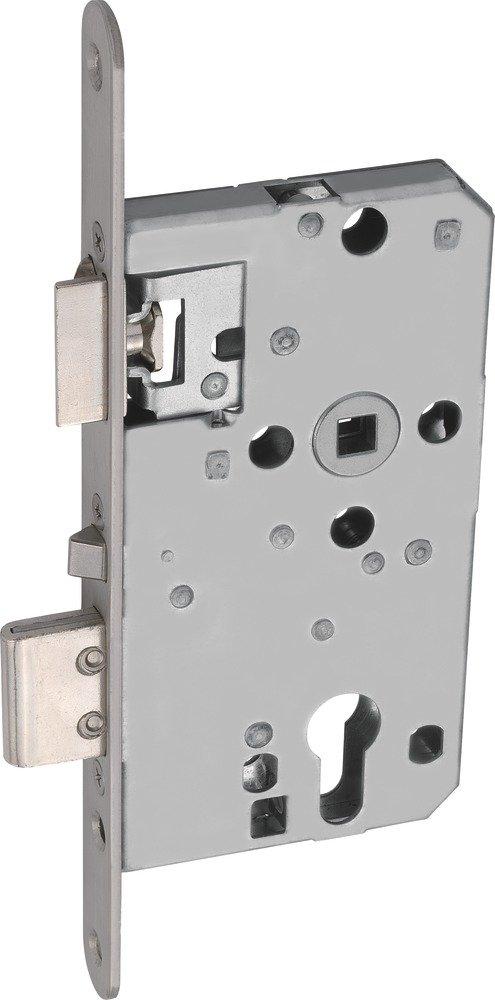 Abus 455513 Mortise Lock TKZ40 R/L ER Silver