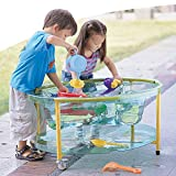 Transparent Sand & Water Table W/Lid for Kids