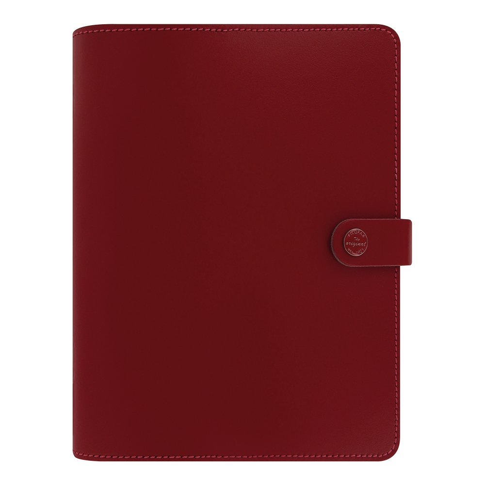 Filofax 2016 A5 Organizer, The Original Pillarbox Red, 8.25 x 5.75'' (C022381-16) by Filofax