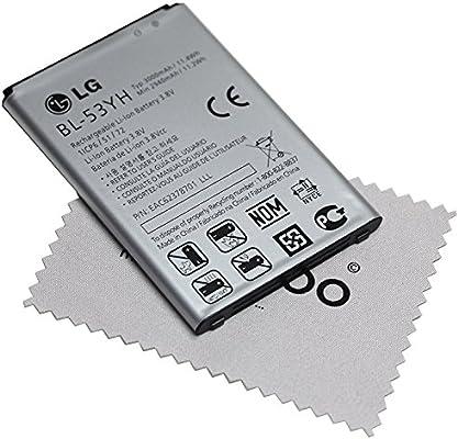 Bateria para LG original BL-53YH EAC62378701 LiIon para LG G3 + ...