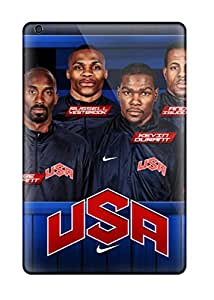 Hot BbYasdb352ATZuO Sports Team Usa Nba Basketball Olympics Dream Team Olympic Games Basketball Player Tpu Case Cover Compatible With Ipad Mini/mini 2