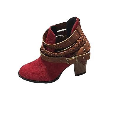 Damen Kurze Stiefel SHOBDW Frauen Herbst Neuheit Entwurf