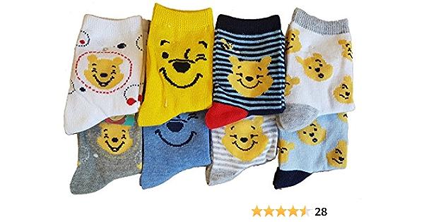 Calcetines infantiles con licencia Disney: PJ Masks Toy Story, Winnie the Pooh – Varios modelos de fotos según disponibilidad.