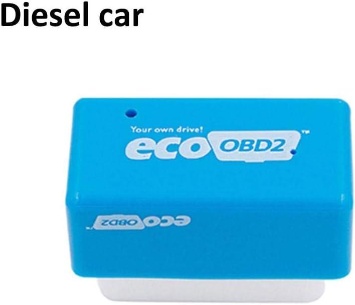Ocamo Nitro//Eco OBD2 Plug and Drive OBDII Performance Chip Tuning Box for Car Petrol Green
